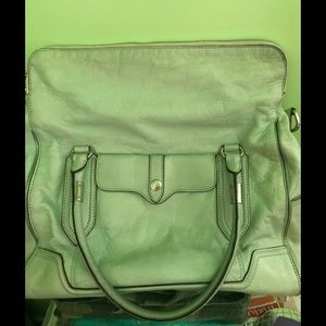 Rebecca Minkoff Mint Green Leather Tote